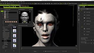 Download iClone Character Creator Tutorial - Advanced Facial Modification: Vampire Video