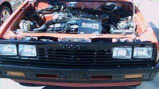 Download 1986 Dodge Ram 50 Truck Red Ocoee110312 Video