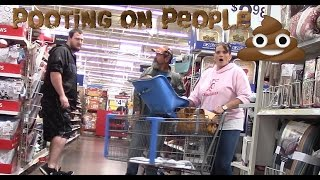 Download Pooting on People! Nasty Fart Prank! (fart sounds) Funny Videos! Video
