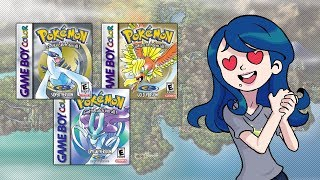 Download Pokémon Gold Silver and Crystal (Nintendo GameBoy Color) - Retro Game Review - Tamashii Hiroka Video