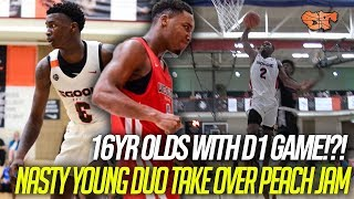 Download 16yrs Old with D1 GAME?!? | Davonte Davis and Chris Moore DOMINATE Peach Jam CHAMPIONSHIP Video