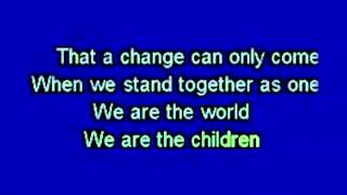 Download We Are The World - USA for Africa (Official Karaoke) MME Collection Video