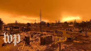 Download Two California neighbors defend their homes from wildfire Video