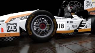 Download Formula Student Race Car - virtual assembly and driving (Rollout 2016) Video