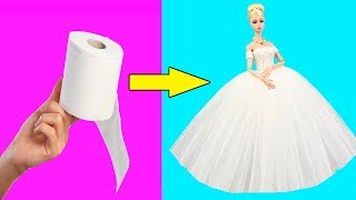 Download DIY Barbie Ideas and Crafts | Making Easy Hacks For Barbie Doll | Creative Fun For Kids Video