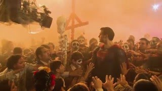 Download Behind-The-Scenes on BATMAN V SUPERMAN - Movie B-Roll & Bloopers Video