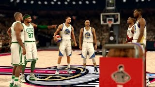 Download NBA 2K17 My Career - 3 Point Contest vs Curry, Durant, Klay! PS4 Pro 4K Video