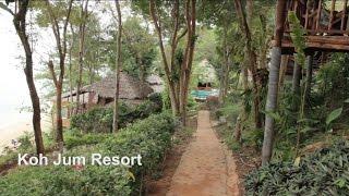 Download Thailand Koh Jum Resort Teakwood Villa 2015 เกาะจำ เกาะปู Crab island Video