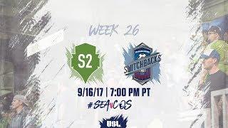 Download USL LIVE - Seattle Sounders FC 2 vs Colorado Springs Switchbacks FC 9/16/17 Video