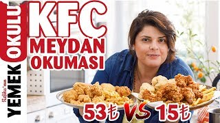 Download 53TL VS 15TL KFC Meydan Okuması | Evde Daha Ucuz ve Hızlı KFC Tavuğu Yapmak Video