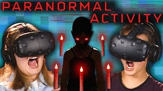 Download PARANORMAL ACTIVITY | VR HORROR GAME! (Teens React: Gaming) Video
