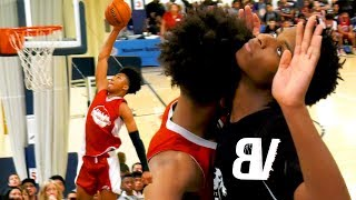 Download Mikey Williams Dunks TWICE + Hits 3 From VOLLEYBALL LINE! Catching LOBS + Drops 31 In ONE HALF!! Video