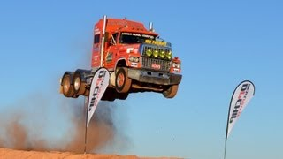 Download Semi Truck Jump, Prime mover loveday4x4adventures Video