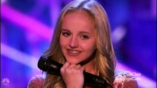 Download Evie Clair: Sings For Her Dad with Cancer Leaves NO DRY EYE!! America's Got Talent 2017 Video