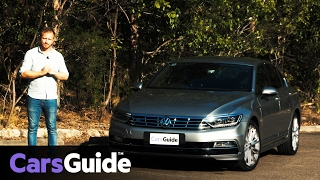 Download Volkswagen Passat 206TSI R-Line 2017 sedan review | road test video Video