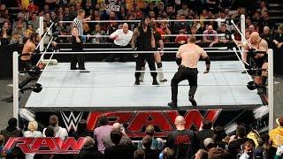 Download Daniel Bryan & Roman Reigns vs. Seth Rollins, Big Show, Kane & J&J Security: Raw, February 9, 2015 Video