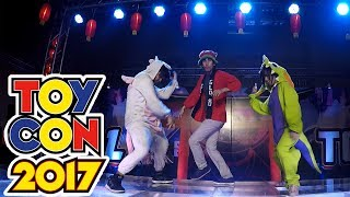 Download DANCE TILL YOU'RE DEAD COSPLAYERS - TOYCON 2017 Video