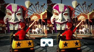 Download New Scary Roller Coaster 3D Video: Virtual Reality Creepy Videos for Smartphone & VR Box or Gear VR Video