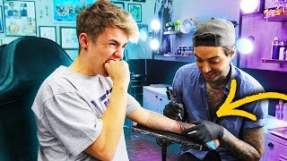 Download GETTING MY FIRST TATTOO!! 😱 Video
