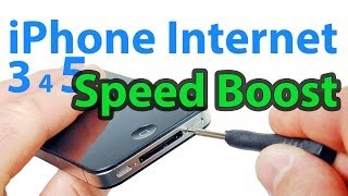 Download iPhone 6, 5, 4, 3 Internet Speed Boost - Super Easy Video