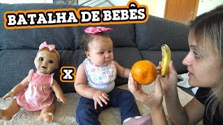 Download BEBÊ DE VERDADE VS BONECA! Video