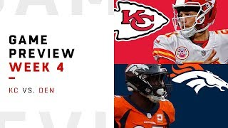 Download Kansas City Chiefs vs. Denver Broncos | Week 4 Game Preview | NFL Playbook Video