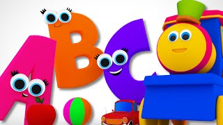 Download Bob The Train | Phonics Song | Learn ABC | Alphabet Song | Children's Video Bob Cartoons by Kids Tv Video