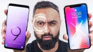 Download Intelligent Scan vs Face ID - Galaxy S9 vs iPhone X Video