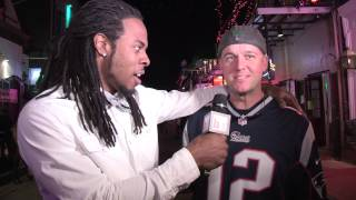 Download NFL STAR RICHARD SHERMAN 'PUNKS' FANS ON BOURBON STREET Video