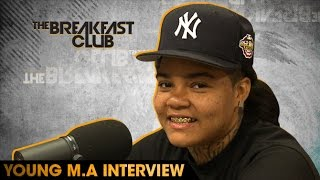 Download Young M.A Interview With The Breakfast Club (8-19-16) Video