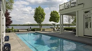 Download Colonial Estate with Amazing Lake Views in Minnetonka Beach, Minnesota Video