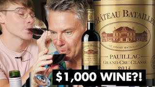Download Does More Expensive Wine Taste Better? ($1000 vs $40 vs $5) // with British Gentleman: Ollie's Dad Video