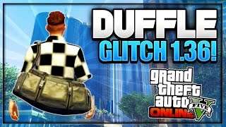 Download GTA 5 Online - *NEW* DUFFLE BAG GLITCH *Patch 1.36* (How to Obtain Rare Duffle Bag) Video