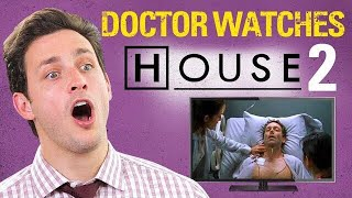 Download Doctor Reacts to HOUSE M.D #2. | ″Three Stories″ | Medical Drama Review Video