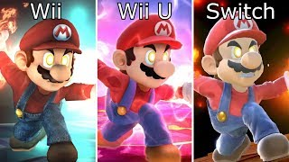 Download Super Smash Bros Switch vs Wii U vs Wii Final Smash Comparison Video