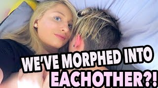 Download WE'VE MORPHED INTO EACHOTHER?! Video