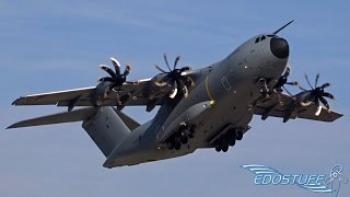 Download Royal Air Force - Airbus A400M Atlas ZM400 - Amazing Short Takeoff from Split Airport LDSP/SPU Video