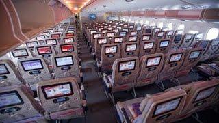 Download EMIRATES IMPRESSIVE ECONOMY CLASS   DUBAI-ZURICH   AIRBUS A380 Video