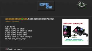 PS3] How to change IDPS or PSID with PSNpatch Free Download
