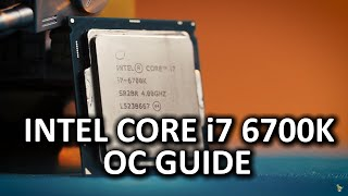 Download Intel ″Skylake″ Core i7 6700K Overclocking Guide Video
