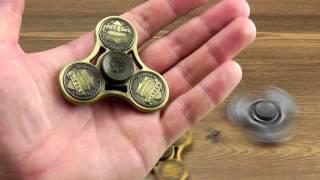 Download ОБЗОР: Металлический Спиннер Fidget Spinner серия ″One Cent″ Video