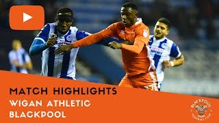 Download Match Highlights   Wigan Athletic 0 Blackpool 2 Video