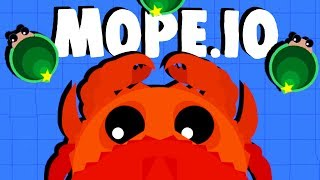 Download The LEGENDARY KING CRAB! - NEW Mope.io Update! - Mope.io Gameplay Video