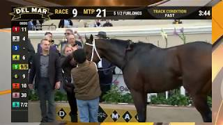 Download Mo Forza wins Hollywood Derby (Grade I) race 8 at Del Mar 11/30/19 Video