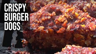 Download Crispy Stuffed Burger Dogs Video