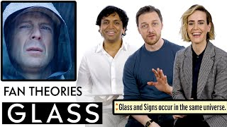 Download Glass Fan Theories With James McAvoy, M. Night Shyamalan & Sarah Paulson | Vanity Fair Video