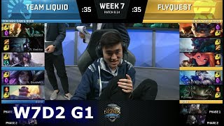 Download Team Liquid vs FlyQuest | Week 7 Day 2 S8 NA LCS Summer 2018 | TL vs FLY W7D2 Video
