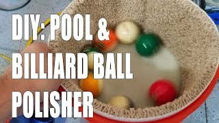Download DIY: How to make billiard pool ball washer polisher cleaner Video