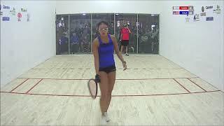 Download 2018 Racquetball Pan Am Championships - Women's Singles Quarterfinals - Rajsich USA vs Vargas ARG Video