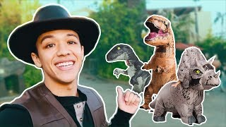 Download Dancing With Jurassic World Dinosaurs! Video